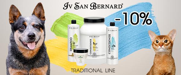 Скидка 10% на традиционную линейку Iv San Bernard!