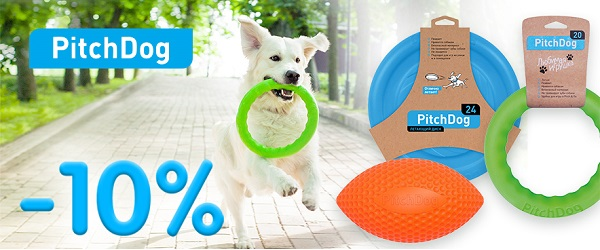 Скидка 10% на PitchDog!