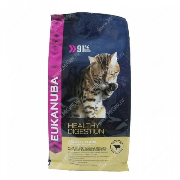 Корм для кошек  Eukanuba  Отзывы покупателей
