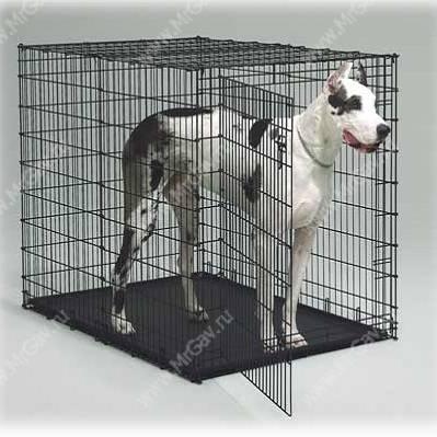 Клетки и вольеры для собак купить недорого в Москве