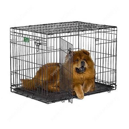 Клетка Midwest iCrate 91 см*58 см*63 см - Интернет-зоомагазин Мистер Гав