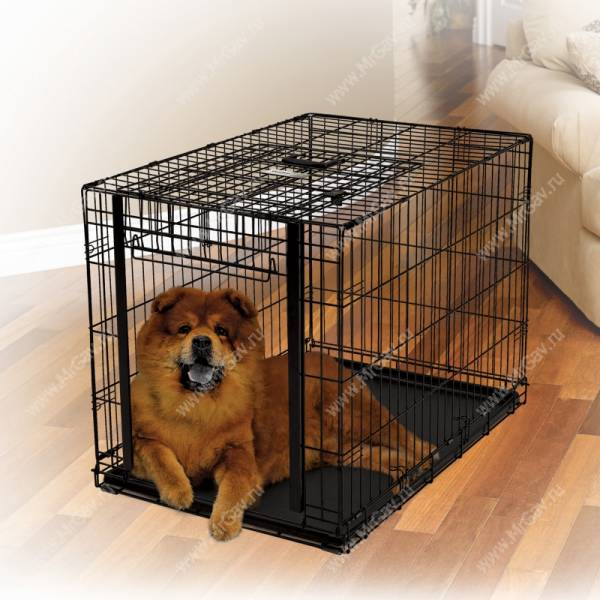 Клетка Midwest Ovation Crate 94,6 см*58,4 см*63,5 см - Интернет-зоомагазин Мистер Гав