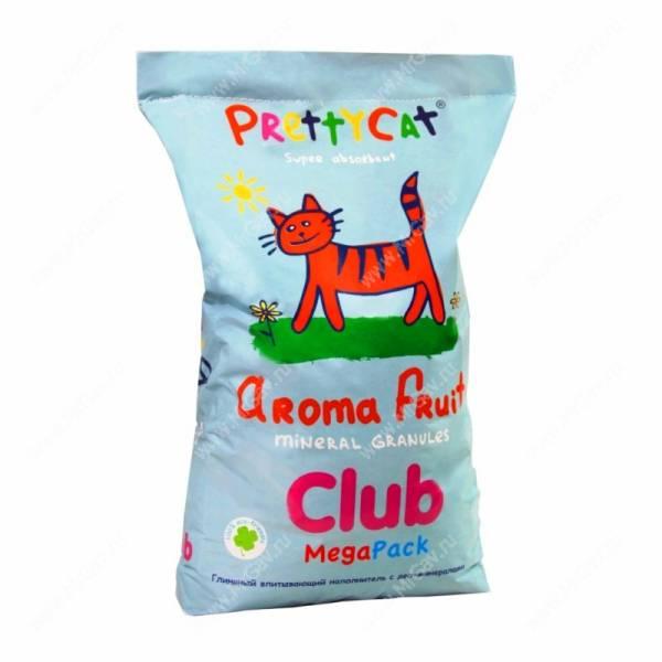 ����������� �������� ����������� � ���-����������� PrettyCat Aroma Fruit CLUB, 20 ��
