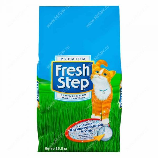 ����������� ����������� Fresh Step Clay, 3,2 ��