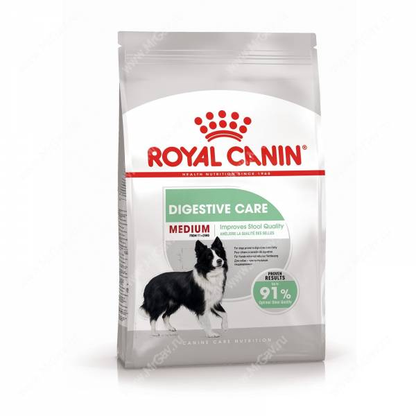 Royal canin сухой корм medium sensible