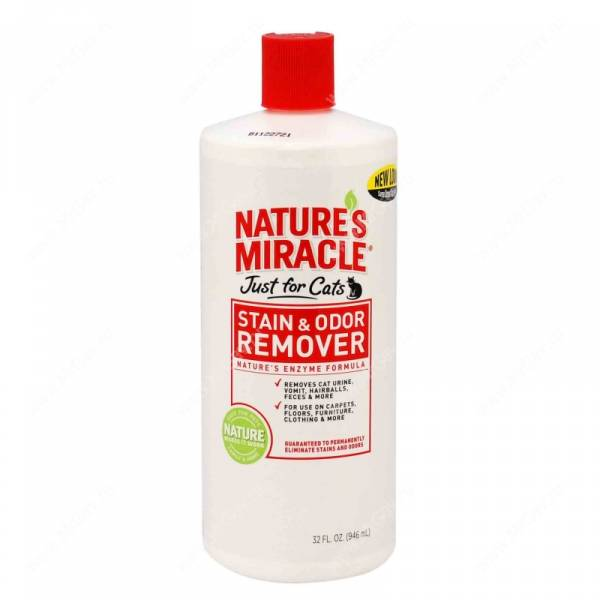 ������������� ������������ ������� � ����� ��� ����� 8in1 Nature's Miracle JFC S&O Remover, 946 ��