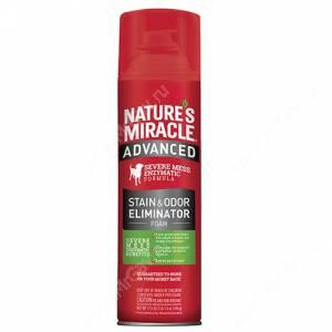 Аэрозоль-пена для уничтожения пятен и запахов от собак с усиленной формулой 8in1 Nature's Miracle Advanced, 518 мл