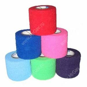 Бандаж Andover PetFlex NL 2,5 см*4,5 м, 2 шт., цвета микс