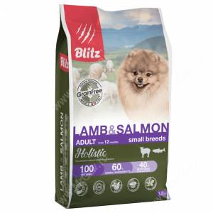 Blitz Grain Free Adult Lamb&Salmon