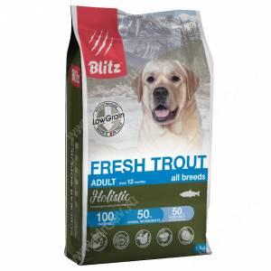 Blitz Low Grain Adult Fresh Trout