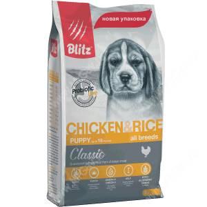 Blitz Puppy Chiken All Breeds