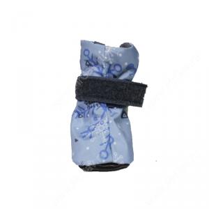 Ботинки на флисе OSSO, М, голубые