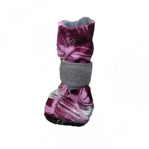 Ботинки на флисе OSSO, S, пурпурные