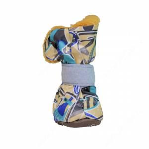 Ботинки на меху OSSO, M, разноцветные