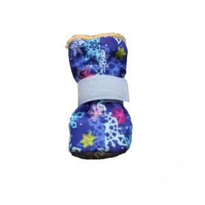 Ботинки на меху OSSO, M, синие