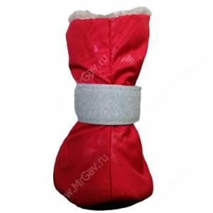 Ботинки на меху OSSO с подошвой, M, красные