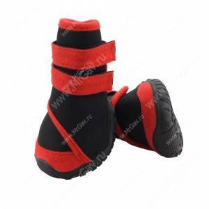 Ботинки Triol S, черно-красные