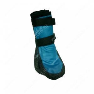Ботинки утепленные для собак OSSO, 4, черно-голубые