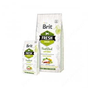 Brit Fresh Dog Duck With Millet Run & Work