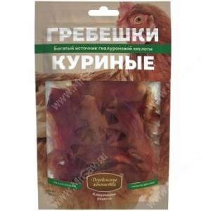 Деревенские лакомства гребешки куриные, 50 г