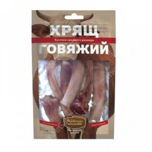 Деревенские лакомства хрящ говяжий средний, 75 г
