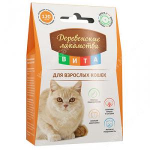 Деревенские лакомства Вита для взрослых кошек