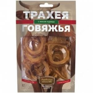 Деревенские лакомства трахея говяжья с мясом курицы, 50 г