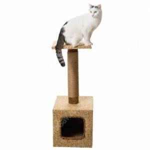 Домик-когтеточка для кошек Классика