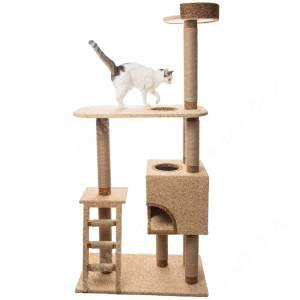 Домик-когтеточка для кошек Лестница