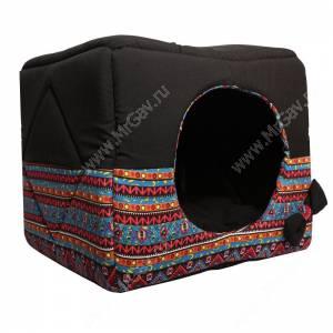 Домик Кубик-трансформер, M, 45 см*45 см*45 см, черный