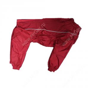 Дождевик OSSO, девочка, модель 2, 50 см, бордовый