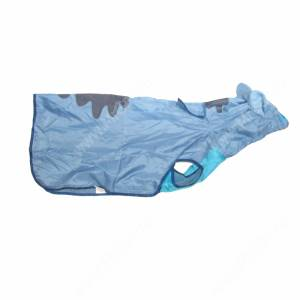 Дождевик Зайчик, синий, 54 см
