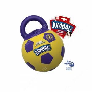 Джамболл GiGwi, 26 см, фиолетово-желтый