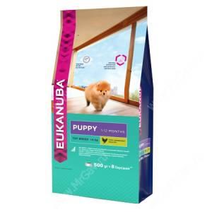 Eukanuba Puppy Toy Dog (Курица с рисом)