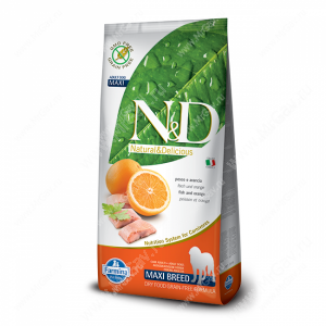 Farmina N&D Fish&Orange Adult Dog Maxi