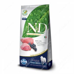 Farmina N&D Lamb&Blueberry Adult Maxi