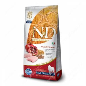 Farmina N&D Low Grain Chicken&Pomegranate Adult Dog Maxi