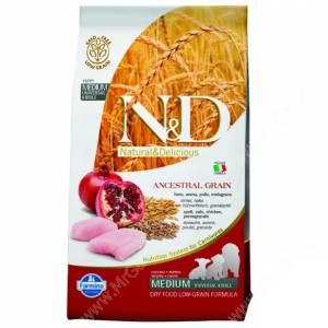 Farmina N&D Low Grain Chicken&Pomegranate Puppy