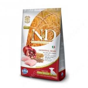 Farmina N&D Low Grain Chicken&Pomegranate Puppy Mini