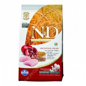 Farmina N&D Low Grain Chicken&Pomegranate Adult Dog