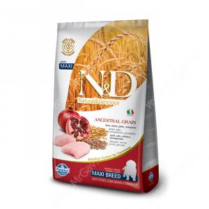 Farmina N&D Low Grain Chicken&Pomegranate Puppy Maxi