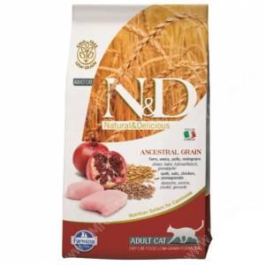 Farmina N&D Low Grain Chicken&Pomegranate Adult Cat