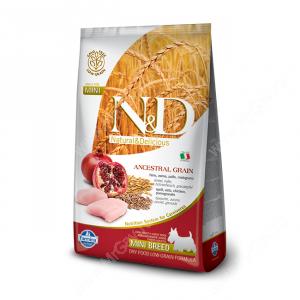 Farmina N&D Low Grain Chicken&Pomegranate Adult Dog Mini