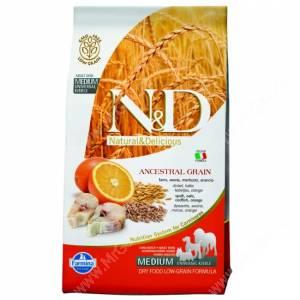 Farmina N&D Low Grain Codfish&Orange Adult Dog