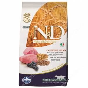 Farmina N&D Low Grain Lamb&Blueberry Adult Cat