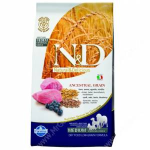 Farmina N&D Low Grain Lamb&Blueberry Adult Dog