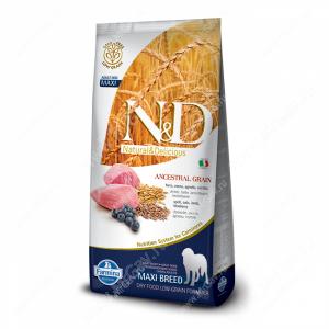 Farmina N&D Low Grain Lamb&Blueberry Adult Dog Maxi