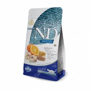 Farmina N&D Ocean Cod, Spelt, Oats & Orange Adult Cat