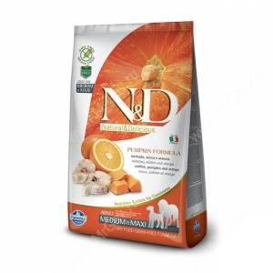 Farmina N&D Pumpkin Codfish&Orange Adult Dog Medium&Maxi