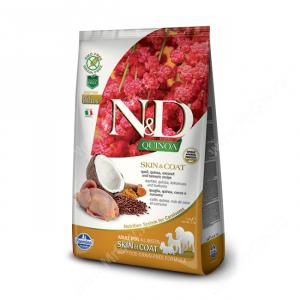 Farmina N&D Quinoa Skin&Coat Quail Adult Dog